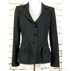 ARMANI COLLEZIONI | Black Wool Blazer Size 8